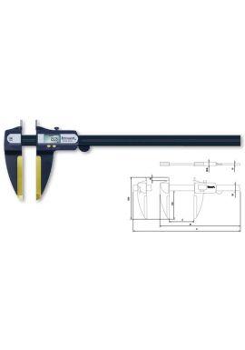"Tesa 00590067 INTERAPID Light weight digital caliper 0-118""/0-3050mm Interchangeable Anvils"