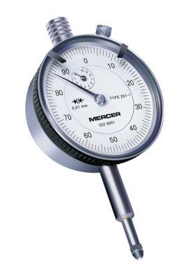 Tesa Mercer 251-1 Dial gauge 10mm travel .01mm Res 01416021