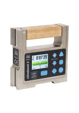 Tesa 05330213 Clinobevel 3 Inclinometer ±10 degree Cast Iron Construction