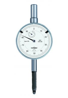Tesa Compac 532E Dial Gauge 10mm travel .01mm res water proof IP54