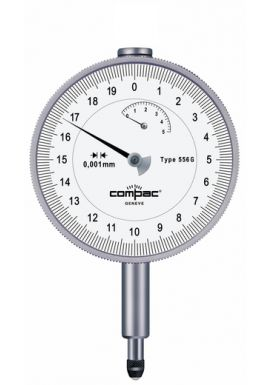 Tesa Compac 556G 5mm travel .001mm  resolution 82mm dial face