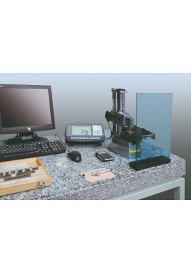 TESA UPC gauge block comparator equipped with single template system with computer control greater accuracy 05930003