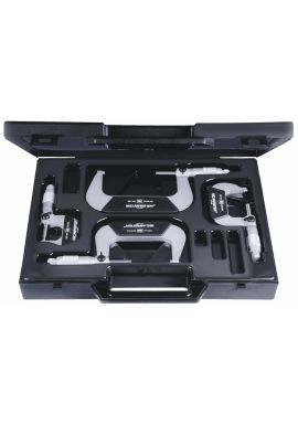 Tesa 00110113 set of 4 ISOMASTER micrometers 0-100mm