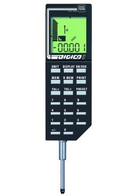 Tesa Digico 2 01930001 Digital dial gauge 50mm long range high accuracy storage of data built in.