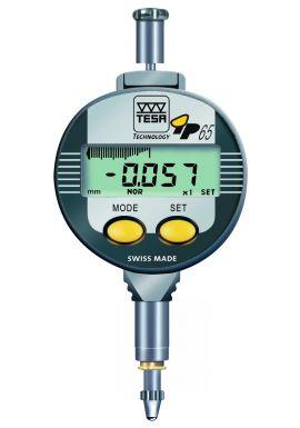 Tesa Digico 12 01930134 High Precision IP65 digital plunger clock 12.5mm travel  .001mm