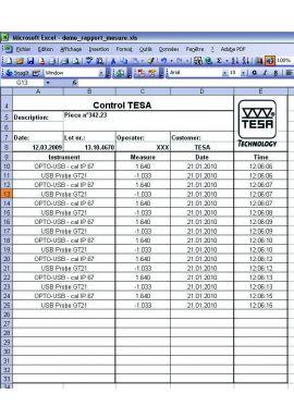 Tesa 04981001 DATA-DIRECT software