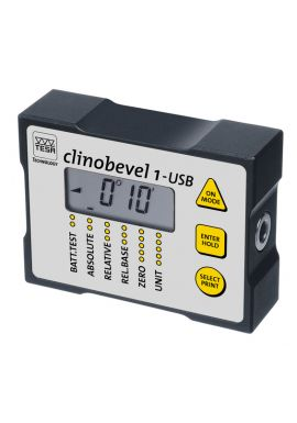 Tesa 05330203 Clinobevel 1 USB Range ±45° includes software & Cable