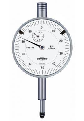 Tesa Compac 532 Dial Gauge 10mm travel .01mm res