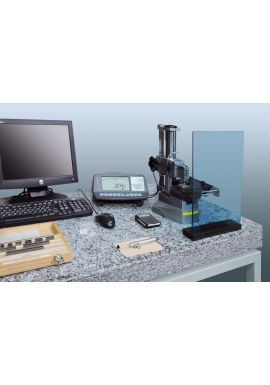 TESA UPC gauge block comparator equipped with single and dual template system with computer 05930015