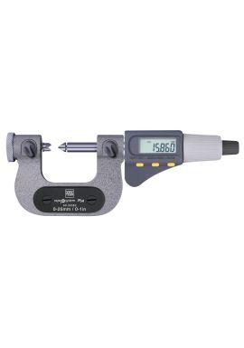"Tesa 06030063 MICROMASTER AC Micrometer for Thread Measurement 1-2""/25-50mm"